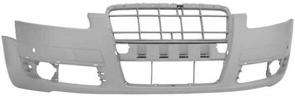 AUDI A6 C6//4F 2005-2008 Front Bumper Cover with holes for parking sensors