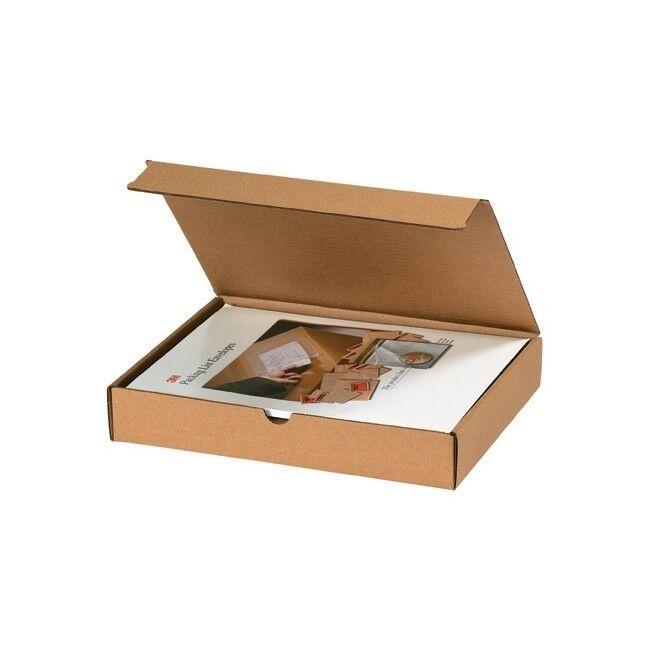 Thornton's Literature Mailers, 12   x 10   x 4  , Kraft, 50