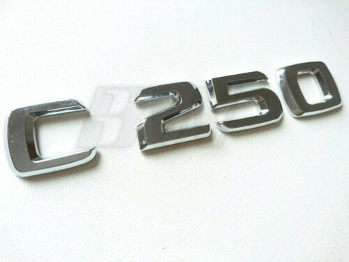 Insignia de arranque C250 Trasero Escotilla letras Mercedes Benz Clase C C 250 C200 C180