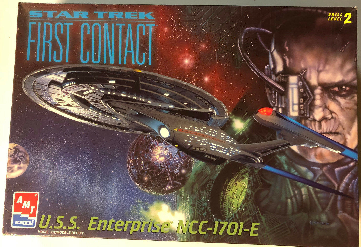 Star Trek Enterprise E First Contact AMT ERTL Model