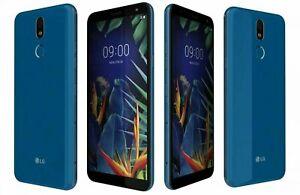 Nueva marca LG K40 Azul-Dual SIM-32GB-16MP - Desbloqueado-Teléfono inteligente ANDROID