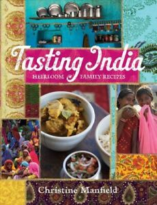 Tasting-India-Heirloom-Family-Recipes-Paperback-by-Manfield-Christine-Sm