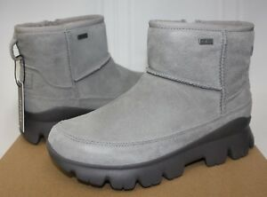 b094dbe2d88 Details about UGG Women's Palomar Sneaker Waterproof Seal Charcoal Grey  suede boots New!