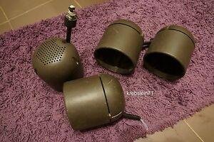 ... 4 Staff Strahler Modell 007620 Erco Lichtschiene Lampe
