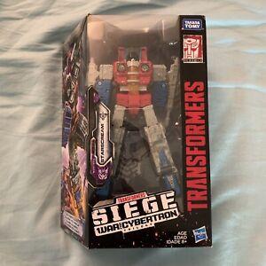 Transformers Siege War For Cybertron Starscream New Free Shipping