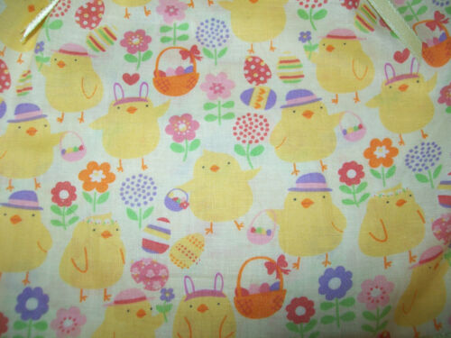 """EASTER CHICK EGG BASKET PRINT OUTFIT W// RIBBONS for 12-14-15/"""" CPK Cabbage Patch"""