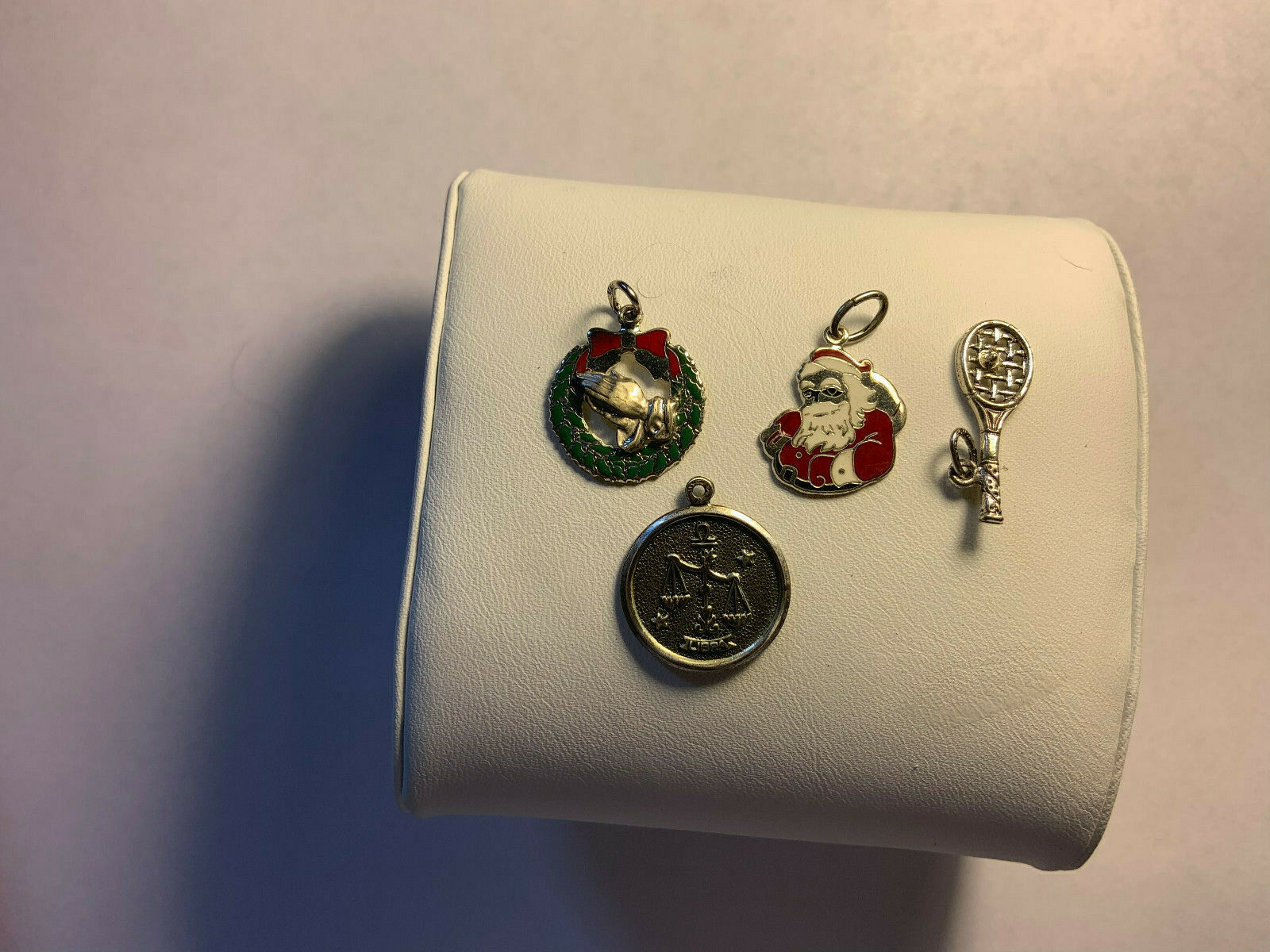 Lot of Beau Sterling Charms Christmas and assorted 4 charms