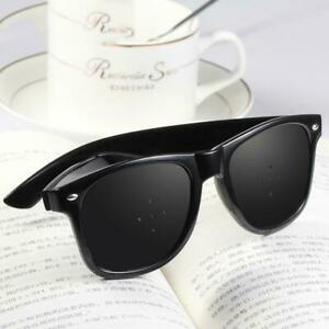 Adult Pinhole Glasses Eyelet Glasses Anti-Myopia Astigmatism-Goggles N7Q7 T7D8