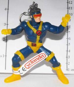 X-Men Cyclops Figurine Keychain Figure Key Chain Made by Yolanda SHMVK404