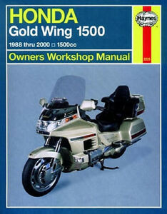 1988 2000 honda gold wing goldwing gl1500 haynes repair service rh ebay com 2007 goldwing owner manual free 2010 goldwing owners manual