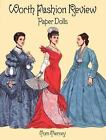 Worth Fashion Review Paper Dolls by Tom Tierney (1996, Paperback)