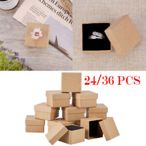 36Pcs-Cardboard-Jewelry-Storage-Boxes-Case-Gift-Earring-Ring-Necklace-Display