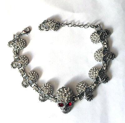 10 Skull bracelet