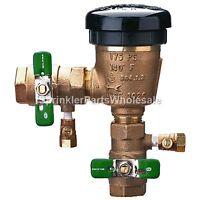 Wilkins 3/4 420xl Lead Free Backflow Preventer 34-420xl Presurized Vacuum Pvb