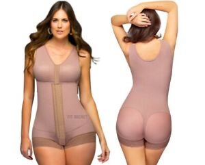 ffd5aa6594c Details about Fajas Colombianas Reductoras Women s Post surgery Full Body  Shaper with Bra