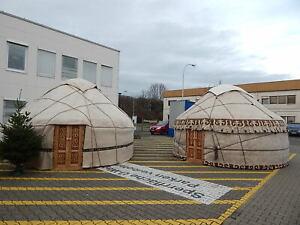 Original kirgisische 5m oder 6m Jurte zum Mieten vermieten Yurt юрта Ger Tipi