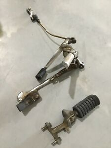 85-86-HONDA-CMX250-SHIFTER-WITH-REARSETS-AND-KICKSTAND-FRONT-PEGS