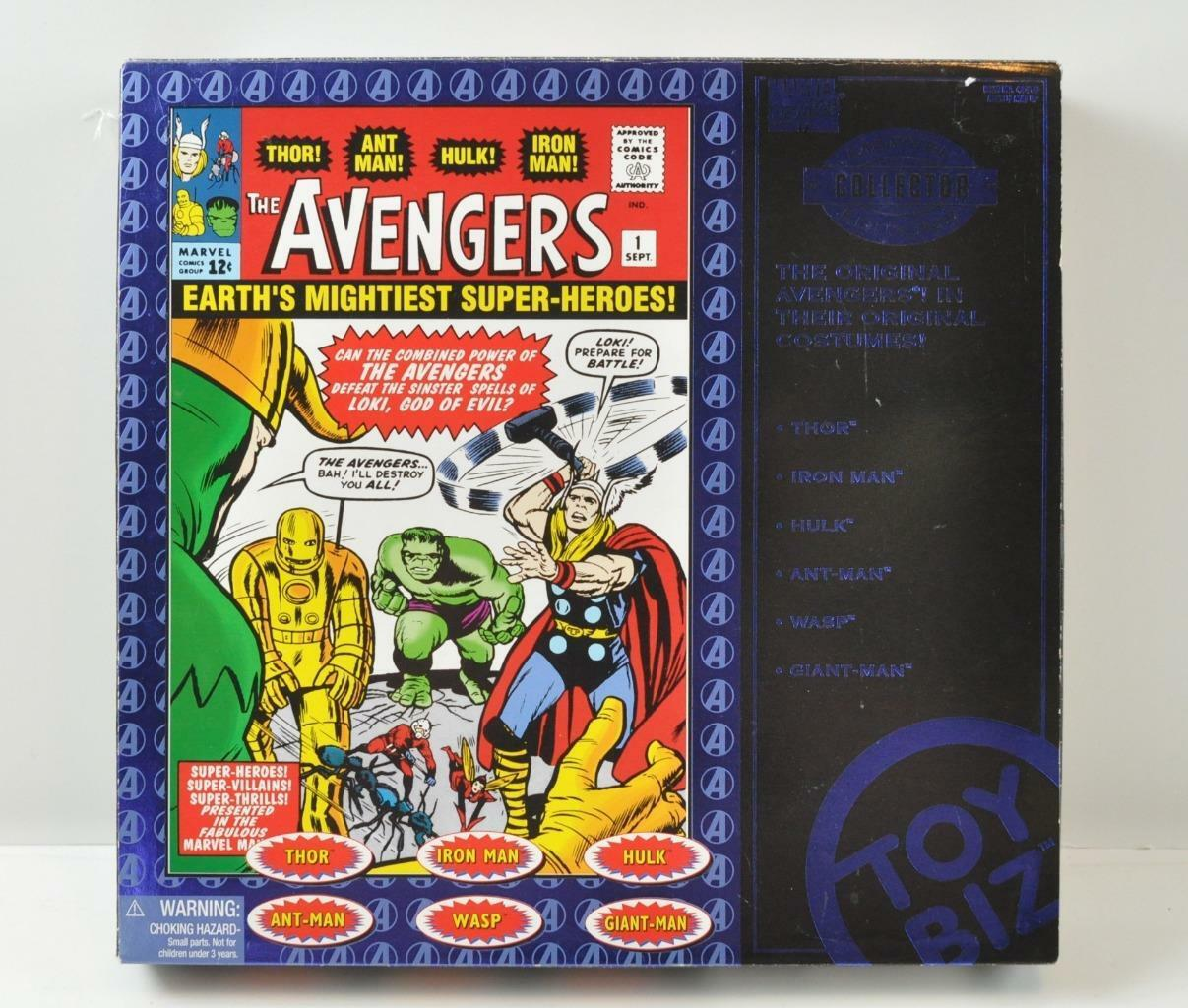 MARVEL COMICS The AVENGERS COLLECTOR EDITIONS THOR HULK WASP ANT-MAN IRON MAN