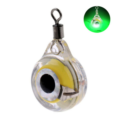 Outdoor Mini LED Flashing Underwater Squid Light Lamp Bait Lures Fish Attraction