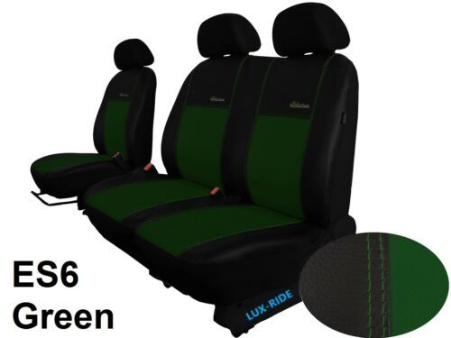 "PEUGEOT BOXER 2006-2014 ARTIFICIAL LEATHER /""eXclusive/"" TAILORED SEAT COVERS"