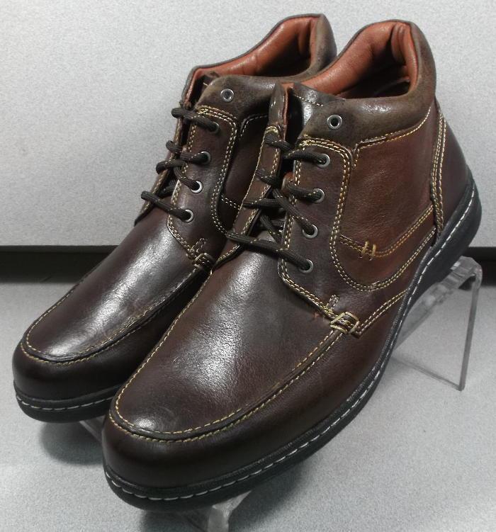 252422 MSBT 50 para hombres zapatos M Marrón Cuero botas Johnston & Murphy