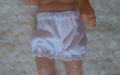 BJB poupées vêtements blanc culotte pantalon FIT mon premier bébé Annabel SIM 37 cm poupée
