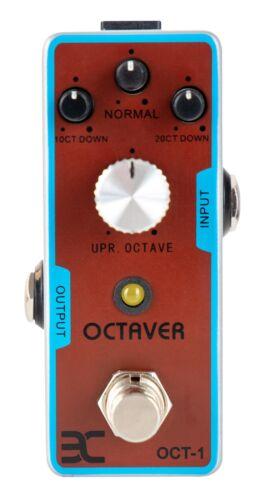 Erstklassiger Octaver E-Gitarren Effekt pitcht bis zu Oktaven runter und 1 rauf