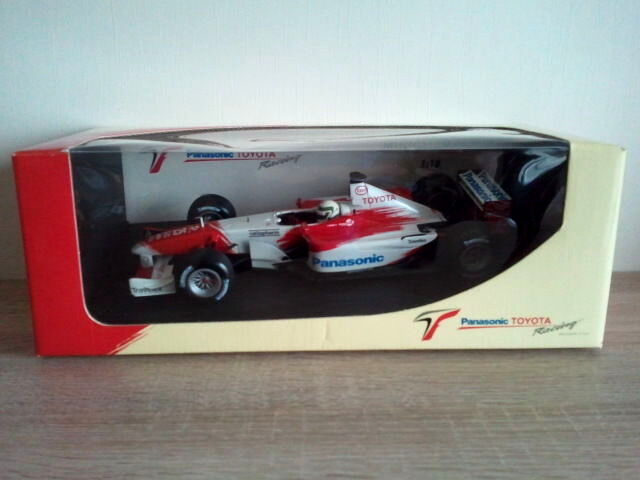 Allan McNISH - MINICHAMPS 103020025 - TOYOTA PANASONIC RACING - TF102 - 2002