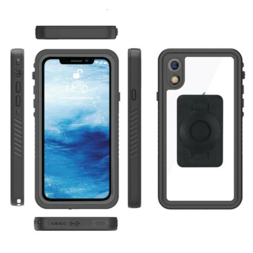 15-17mm Fork Stem Yoke Mount & TiGRA FITCLIC Neo DRY Case for iPhone XR