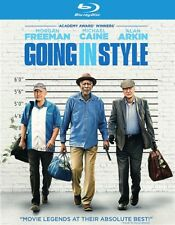 Going in Style Blu-ray DVD 2017 No Digital Copy Morgan Freeman