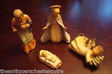 Hummel # 214 TM 6, 1985, Mary, Joseph, Baby Jesus and Flying Angel, New