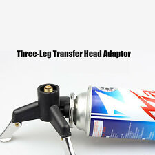 Outdoor Camping Three-Leg Transfer Nozzle Gas Bottle Stove Adaptor Transfer Head