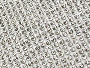 Strass-Hotfix-Foglio-cristalli-di-diamante-FERRO-mesh-sul-trasferimento-38-5-cm-lunghezza