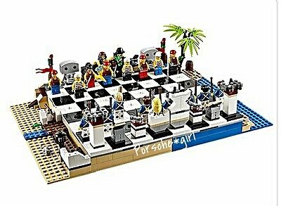 100/% LEGO Pirate King and Queen Chess Island Ship 40158 NEW
