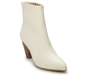 873d491b36ea NWT Women s Apt. 9 Century High Heel Ankle Boots Choose Size Ivory ...