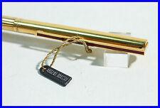 DUPONT 925 Silber Kugelschreiber / Sterling GOLD Vermeil ball pen - red clip