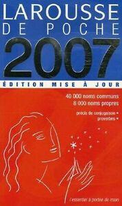 Larousse-de-Poche-2007-Edition-Mise-A-Jour-by-larousse-Bilingual-Dictionaries