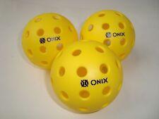 SUPER NEW 3 ONIX PURE 2 PICKLEBALL BALLS OUTDOOR ONIX PURE TOURNAMENT Meet USAPA