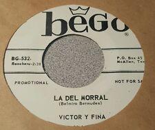 Victor Y Fina ~ Me Quiero Cesar Contigo / La Del Morral ~ Promo ~ (M-)