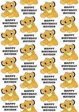 LION KING Wrapping Paper Hakuna Matata Simba birthday party 3 Designs /& 3 Sizes