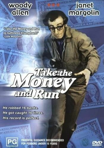 Take The Money And Run (DVD, 2004) WOODY ALLEN - RARE OOP - FREE POST
