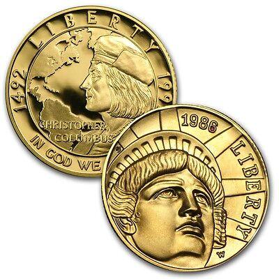 $5 US Mint Commemorative Gold Coin - Random Year - SKU #14078