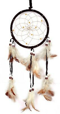 Lovely Dream Catcher Net With Feather Circular Wall Hanging Car Home Decor Gift