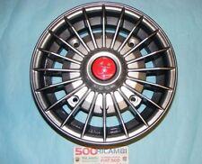 FIAT 500 F/L/R 126 4 CERCHI IN LEGA ABARTH 4,5x12 GRIGIO FUME A RAGGI 4X190 NEW