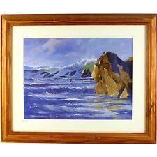 Original Signed Framed Cornish Storm Clearing Morning Landscape Russell Pond