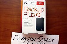 Seagate Backup Plus Slim 4TB External USB 3.0/2.0 Portable Hard Drive Black