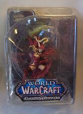 Warcraft WoW Blutelf Schurke Bloodelf Rogue VALEERA SANGUINAR OVP Action Figur