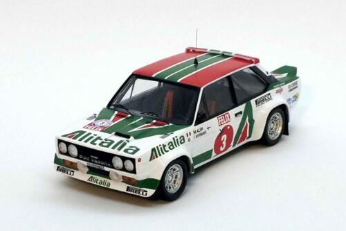 Fiat 131 Abarth-1st R.1000 Lakes 78 Markku Alen//I Kivimaki    TROFEU  TRFRRfi04