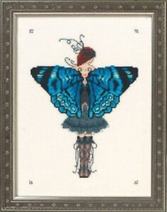 Miss Columbian Nymphalid - Butterfly Misses Collection #NC242 Nora Corbett New