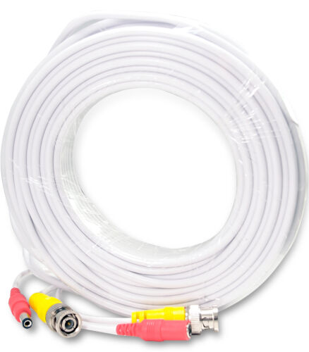 4x 50 Feet Video and Power Pre made Ready made CCTV Cable for Security Camera